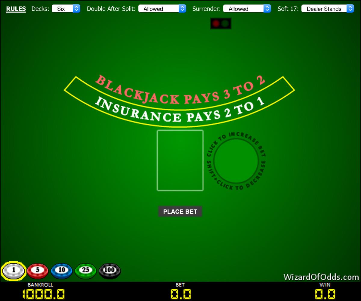Blackjack : jouer en toute sécurité